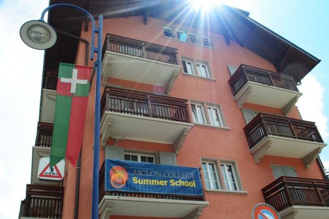 写真:スイスでのサマースクール